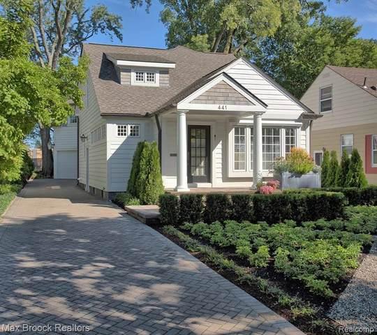 441 Bennaville Avenue, Birmingham, MI 48009 (MLS #R2210079751) :: Berkshire Hathaway HomeServices Snyder & Company, Realtors®