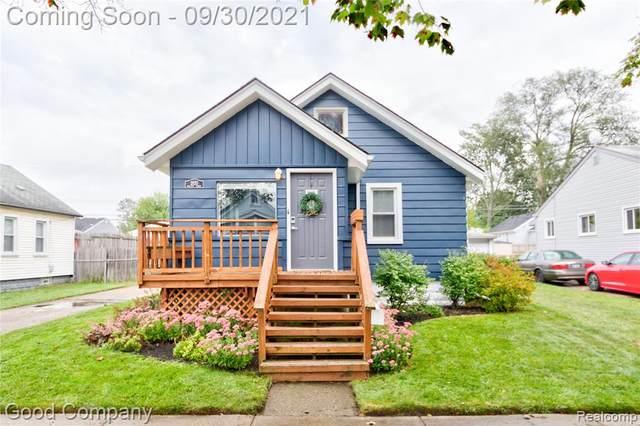 2820 Wolcott Street, Ferndale, MI 48220 (MLS #R2210079080) :: Berkshire Hathaway HomeServices Snyder & Company, Realtors®
