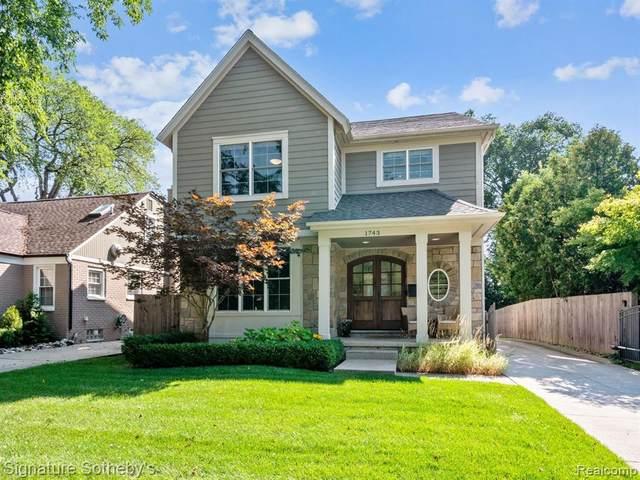 1743 Washington Boulevard, Birmingham, MI 48009 (MLS #R2210080462) :: Berkshire Hathaway HomeServices Snyder & Company, Realtors®