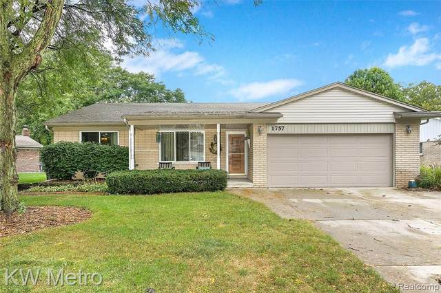 1757 Welling Drive, Troy, MI 48085 (MLS #R2210079302) :: Berkshire Hathaway HomeServices Snyder & Company, Realtors®