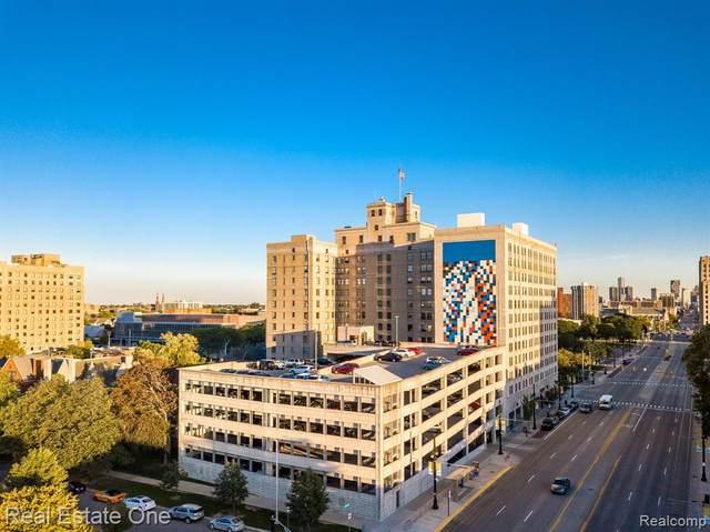 15 E Kirby St Apt 815, Detroit, MI 48202 (MLS #R2210085092) :: Berkshire Hathaway HomeServices Snyder & Company, Realtors®