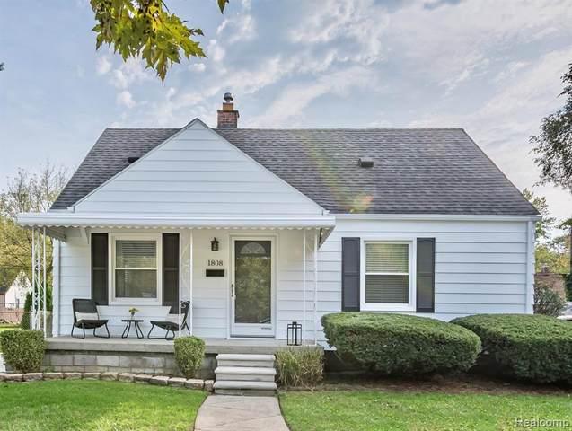 1808 Dallas Avenue, Royal Oak, MI 48067 (MLS #R2210084798) :: Berkshire Hathaway HomeServices Snyder & Company, Realtors®
