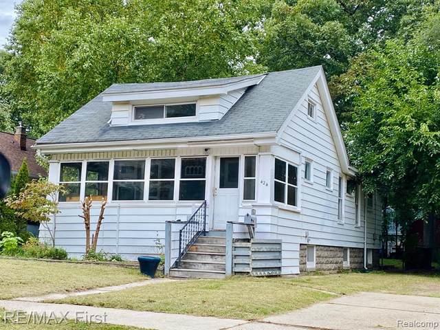 424 Withington Street, Ferndale, MI 48220 (MLS #R2210085501) :: Berkshire Hathaway HomeServices Snyder & Company, Realtors®