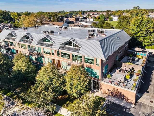 300 Hamilton St Apt 101 #101, Plymouth, MI 48170 (MLS #R2210086298) :: Berkshire Hathaway HomeServices Snyder & Company, Realtors®