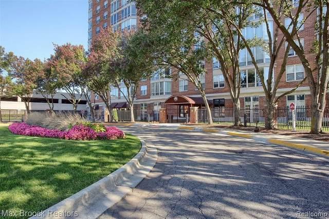 250 E Harbortown Dr Apt 1209, Detroit, MI 48207 (MLS #R2210087065) :: Berkshire Hathaway HomeServices Snyder & Company, Realtors®