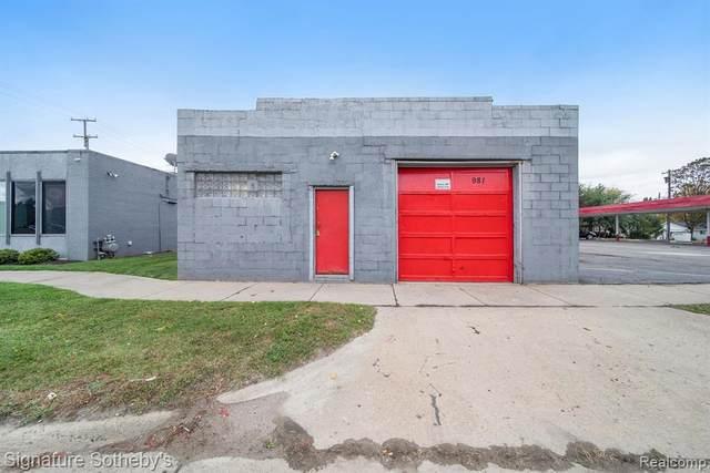 981 Baldwin Ave Avenue, Pontiac, MI 48340 (MLS #R2210088575) :: Berkshire Hathaway HomeServices Snyder & Company, Realtors®