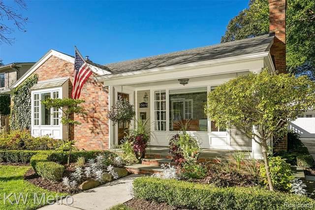 1509 Sunset Blvd, Royal Oak, MI 48067 (MLS #R2210087955) :: Berkshire Hathaway HomeServices Snyder & Company, Realtors®
