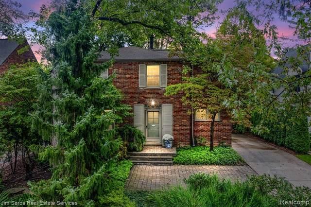 124 Meadow Lane, Grosse Pointe Farms, MI 48236 (MLS #R2210089131) :: Berkshire Hathaway HomeServices Snyder & Company, Realtors®