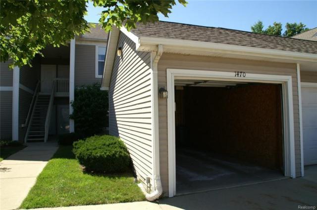1470 Fox Pointe Circle, Ann Arbor, MI 48108 (MLS #R218066846) :: Berkshire Hathaway HomeServices Snyder & Company, Realtors®