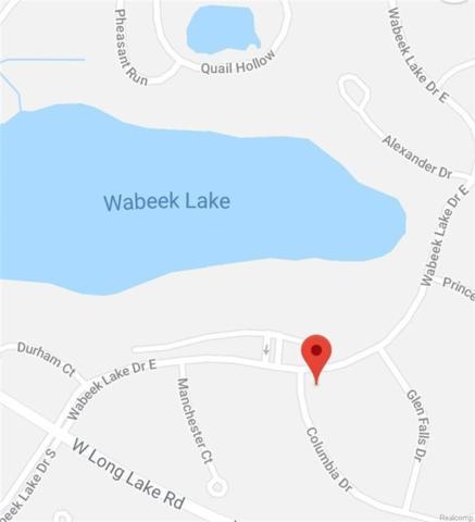 0 Vacant, Bloomfield Hills, MI 48302 (MLS #R218080864) :: Berkshire Hathaway HomeServices Snyder & Company, Realtors®