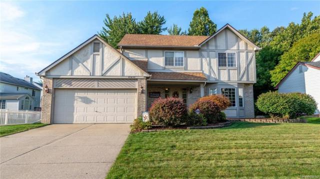 43636 Lancelot Dr, Canton, MI 48188 (MLS #R218092483) :: The Toth Team
