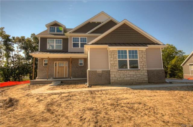 2500 Walnut View Drive (Homesite 17, Howell, MI 48855 (MLS #R218094116) :: Keller Williams Ann Arbor