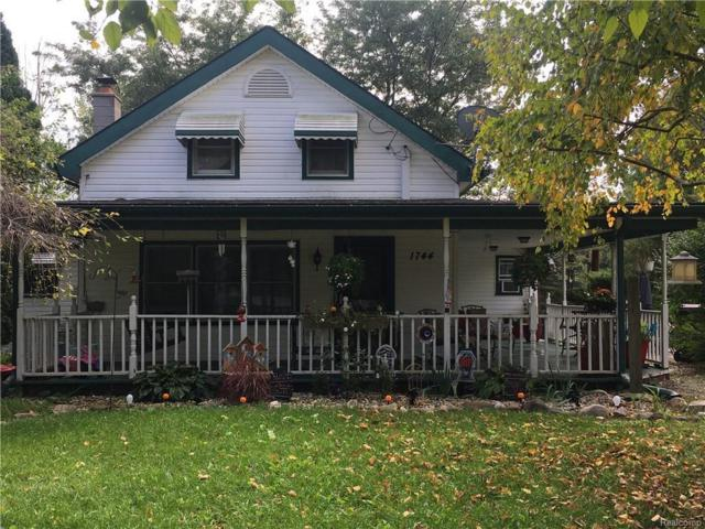 1744 Newport Rd, Newport, MI 48166 (MLS #R218099304) :: Keller Williams Ann Arbor