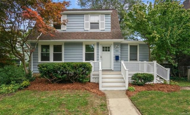 300 Pineridge St, Ann Arbor, MI 48103 (MLS #R218099545) :: The Toth Team