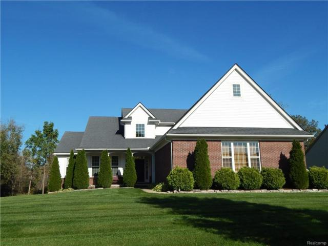 1249 Chemung Forest Dr, Howell, MI 48843 (MLS #R218101136) :: The Toth Team