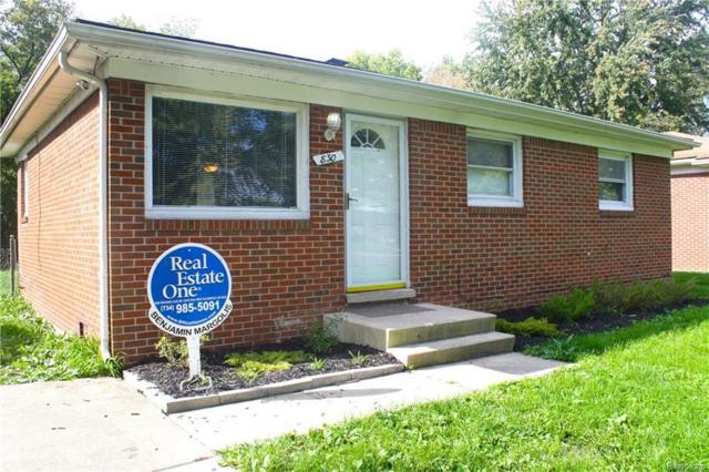830 Gates, Ypsilanti, MI 48198 (MLS #R218101214) :: Keller Williams Ann Arbor