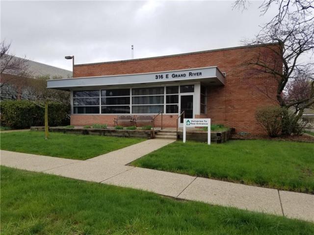 316 E Grand River Ave, Howell, MI 48843 (MLS #R218110702) :: Berkshire Hathaway HomeServices Snyder & Company, Realtors®