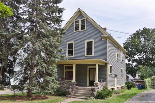 827 W Huron St, Ann Arbor, MI 48103 (MLS #R219003612) :: Berkshire Hathaway HomeServices Snyder & Company, Realtors®