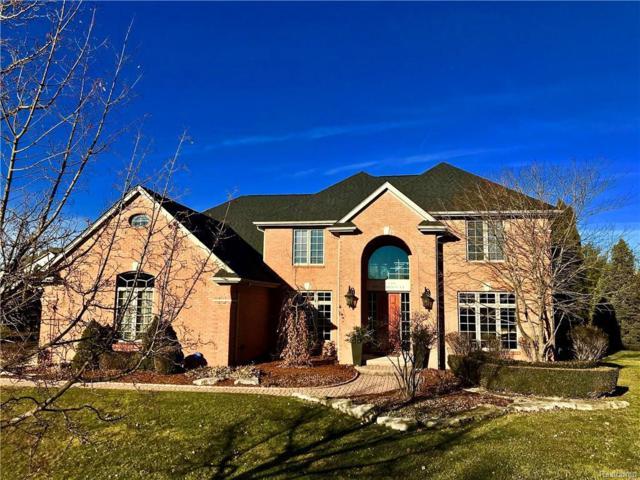 48210 Binghampton Crt, Northville, MI 48168 (MLS #R219010643) :: Keller Williams Ann Arbor