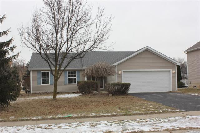 675 Christopher St, Fowlerville, MI 48836 (MLS #R219012036) :: The Toth Team