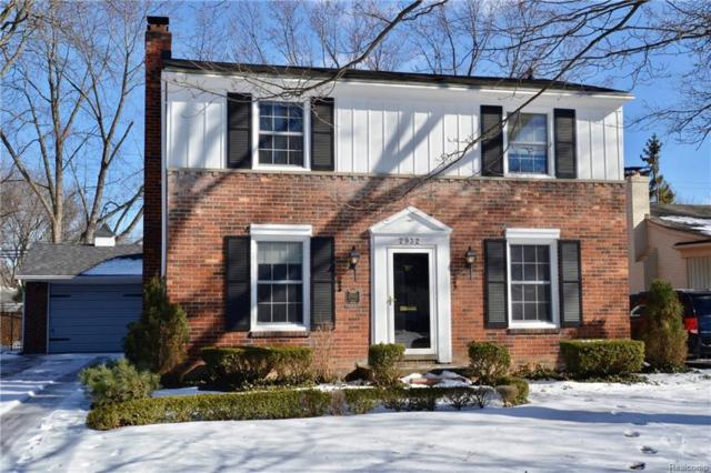2932 Elmhurst Ave, Royal Oak, MI 48073 (MLS #R219013462) :: Keller Williams Ann Arbor