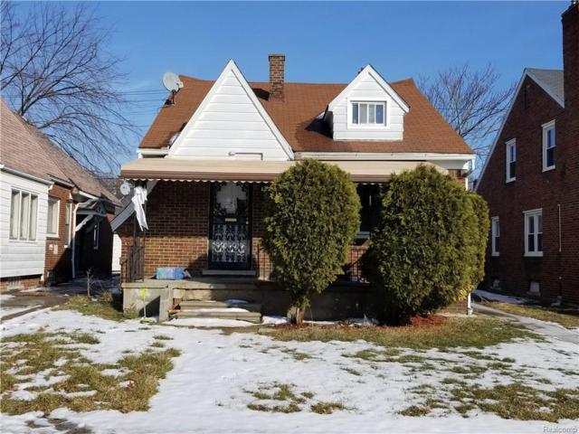 5542 Devonshire Rd, Detroit, MI 48224 (MLS #R219013520) :: The Toth Team
