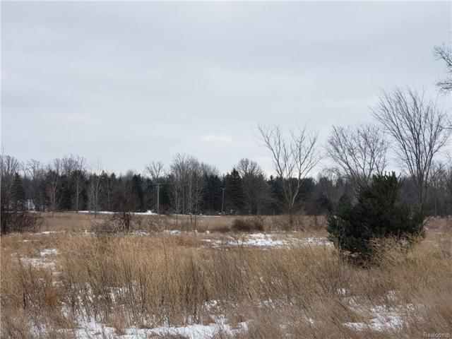0 Sherwood Rd, Fowlerville, MI 48836 (MLS #R219013644) :: The Toth Team