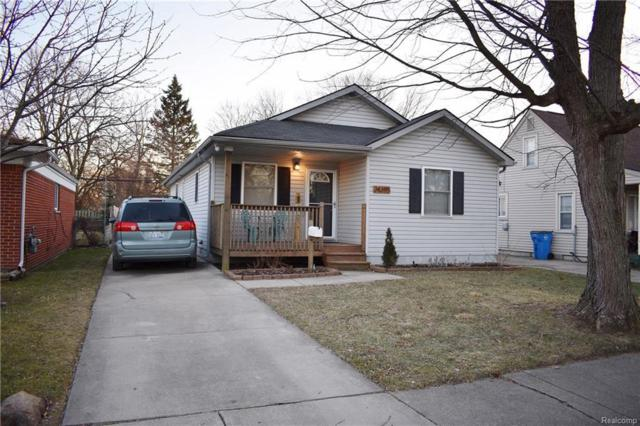 24395 Eton Ave, Dearborn Heights, MI 48125 (MLS #R219013757) :: The Toth Team