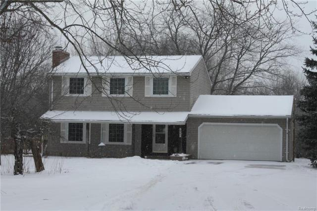 8965 Buckhorn Lake Rd, Holly, MI 48442 (MLS #R219013811) :: The Toth Team