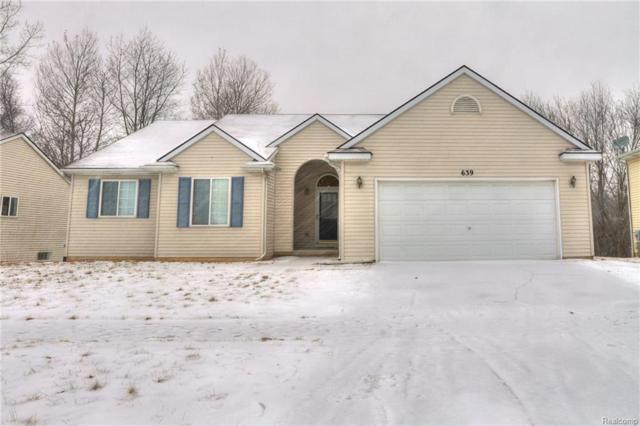 639 Cattail Ln, Pinckney, MI 48169 (MLS #R219013912) :: Keller Williams Ann Arbor