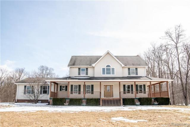 7750 Fox Ln, Whitmore Lake, MI 48189 (MLS #R219034516) :: Berkshire Hathaway HomeServices Snyder & Company, Realtors®