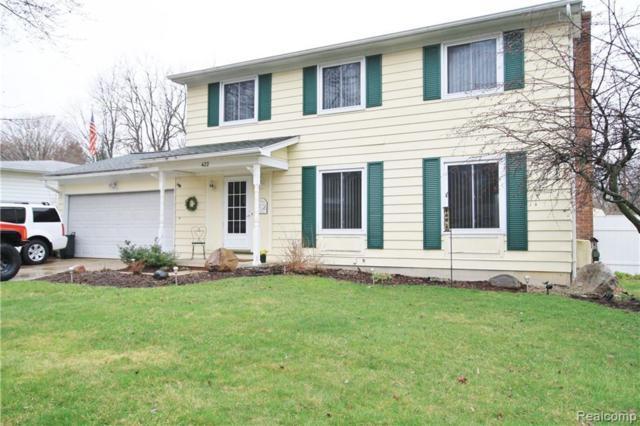 422 Old Mill Dr, Flushing, MI 48433 (MLS #R219034930) :: Berkshire Hathaway HomeServices Snyder & Company, Realtors®