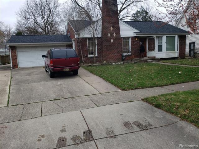 17636 Shaftsbury Ave, Detroit, MI 48219 (MLS #R219035014) :: The Toth Team