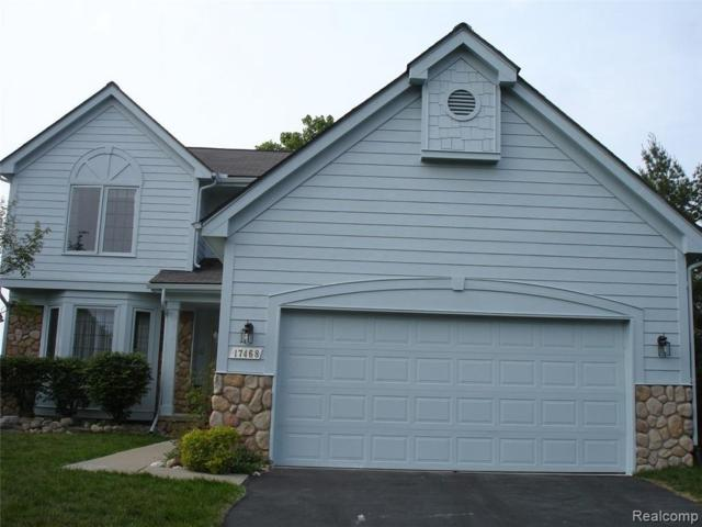 17468 Lake View Cir, Northville, MI 48168 (MLS #R219035604) :: Berkshire Hathaway HomeServices Snyder & Company, Realtors®