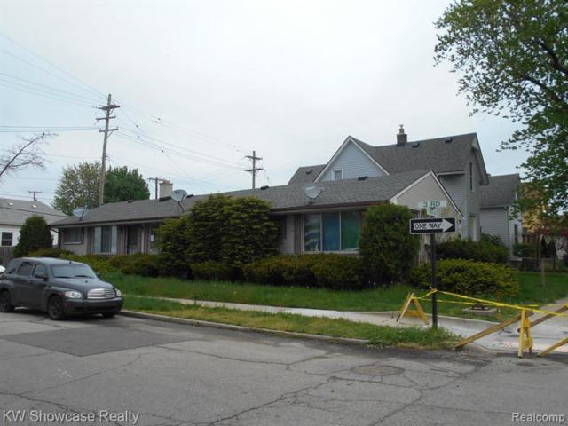 266 Ford Ave, Wyandotte, MI 48192 (MLS #R219036188) :: The Toth Team