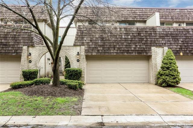1267 Oakwood Crt, Rochester Hills, MI 48307 (MLS #R219042837) :: The Toth Team