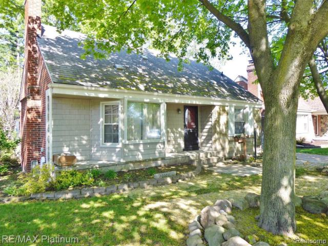 17001 Beech Daly Rd, Redford, MI 48240 (MLS #R219045015) :: The Toth Team