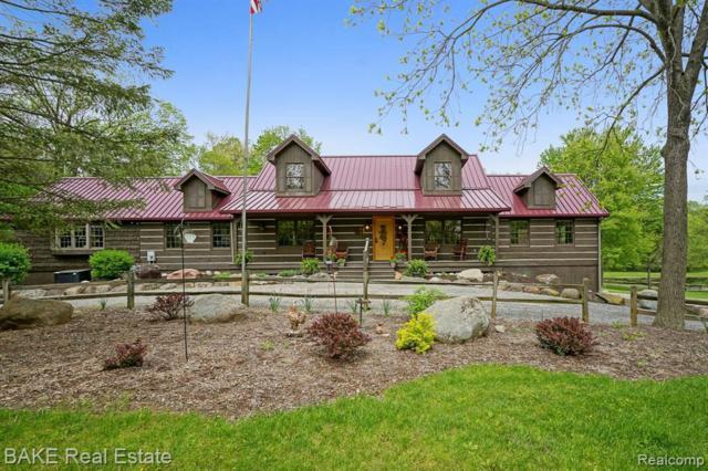 4324 N Lake Rd, Clarklake, MI 49234 (MLS #R219046386) :: Berkshire Hathaway HomeServices Snyder & Company, Realtors®