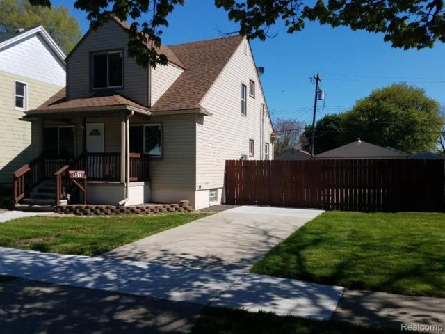 1570 Morris Ave, Lincoln Park, MI 48146 (MLS #R219046397) :: The Toth Team