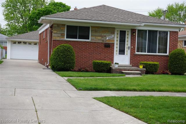 6489 N Lafayette St, Dearborn Heights, MI 48127 (MLS #R219046561) :: The Toth Team