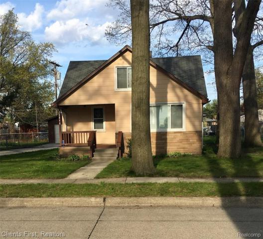 23846 Woodrow Wilson Ave, Warren, MI 48091 (MLS #R219046635) :: The Toth Team