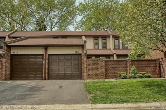 1183 Kirts Blvd, Troy, MI 48084 (MLS #R219046861) :: The Toth Team