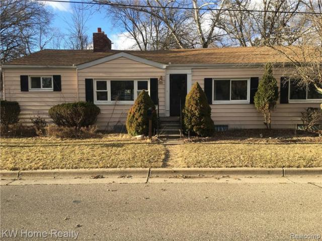 328 Hiel St, Rochester, MI 48307 (MLS #R219046928) :: The Toth Team