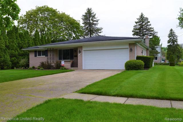 17427 Fairway St, Livonia, MI 48152 (MLS #R219047383) :: Keller Williams Ann Arbor
