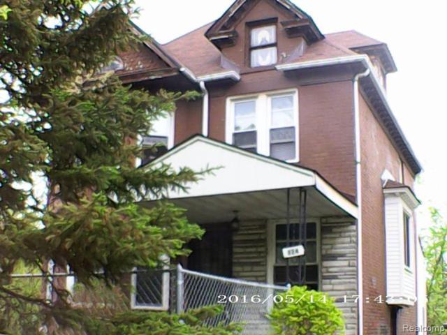 324 Woodland St, Detroit, MI 48202 (MLS #R219047906) :: Berkshire Hathaway HomeServices Snyder & Company, Realtors®