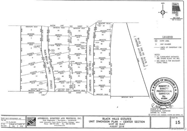 54615 Deadwood Ln, Utica, MI 48316 (MLS #R219048176) :: The Toth Team