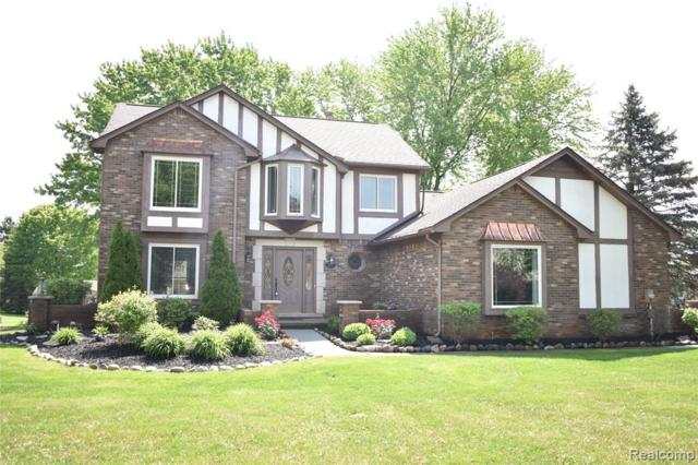 8522 Springwood Way, Washington, MI 48094 (MLS #R219048847) :: Berkshire Hathaway HomeServices Snyder & Company, Realtors®