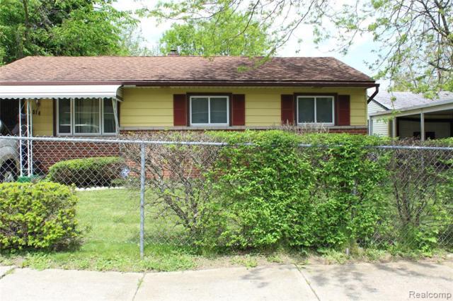 514 California Ave, Pontiac, MI 48341 (MLS #R219049376) :: Berkshire Hathaway HomeServices Snyder & Company, Realtors®