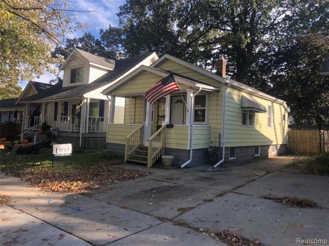 131 W Elza Ave, Hazel Park, MI 48030 (MLS #R219049394) :: Berkshire Hathaway HomeServices Snyder & Company, Realtors®