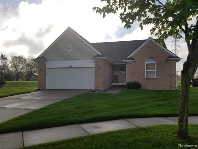 1183 Oaklawn Dr, Pontiac, MI 48341 (MLS #R219049414) :: Berkshire Hathaway HomeServices Snyder & Company, Realtors®